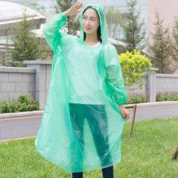 Защита от брызг одноразовые трость взрослых чрезвычайной водонепроницаемый кожух Poncho поездки должны кемпинг плащ ясно Rainwear костюм