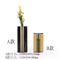 Novas e criativas a Função Dupla Flores vaso de metal em Casa do Artesanato