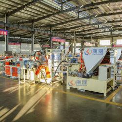 توصيل نظام إمداد الطاقة غير القابل للانقطاع (UPS) السريع TNT مع حقيبة منع التسرب الجانبية للجيب الخلفي ماكينة صناعة حقائب البريد