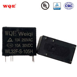 소형 5A 10A 파워 릴레이 5핀 4핀 스파스트 후에홀드 어플라이언스/전기 제조/자동용 SPDT 릴레이 제어/스마트 홈