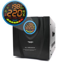 مرحل شاشة LED من النوع 8000va بقدرة 220 فولت من AVR مثبت جهد تلقائي المنظم