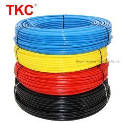 Alimentación fabricante PA12 Tubo de nylon de color negro, el tubo de poliamida color