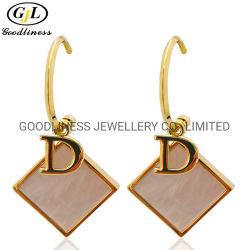 Мода украшения 925 Silver Gold покрытие Shell Каменные украшения для продажи