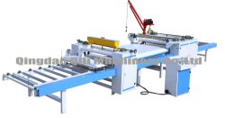 PVC 또는 종이 목재 베니어 기계 라미네이팅 라인/알루미늄 플레이트 표면 장식 기계/알루미늄 합금 플레이트 라미네이팅 프레스 기계