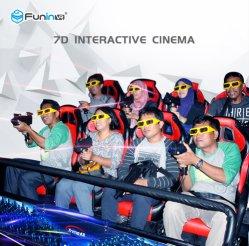 الملاهي لعام 2015 أحدث مقعدين من OEM سينما Mini 5D