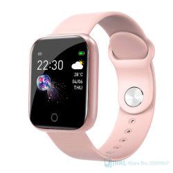Новые интеллектуальные смотреть Женщины Мужчины Smartwatch для ОС Android Ios электроники Smart Clock фитнес-Tracker силиконовый ремешок Smart-Watch часов