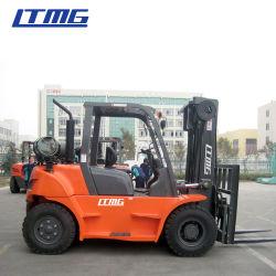 2020 China Ltmg GLP y gasolina transmisión automática de la carretilla elevadora 5ton ton ton 67El equipo de elevación para la venta
