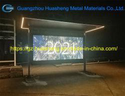 Smart LED/LCD Bus Stop abrigo (HS-BS-S001)