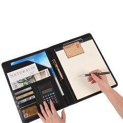 O design do compartimento adicional 2020 uma Carteira de couro PU4 Pasta de arquivo de documento