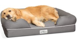 """Orthopädischer Bett 5 Speicher-Schaumgummi des Hundebett-Aufenthaltsraum-Sofa-entfernbarer Deckel-Veloursleder-2.5 """" - """" erstklassige Prestige-Ausgabe 100% für Haustier"""