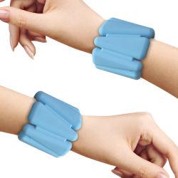 Bracelet en silicone résistant Poids Poids portable Bracelet - Intensifier la condition physique, l'exercice, la marche, jogging, gymnastique, aérobic, yoga, salle de gym