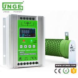 JNGE 48Vの風の風発電機MPPTの倍力リチウム電池のための充満機能およびダンプロード装置が付いている太陽ハイブリッド料金のコントローラ