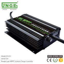 Carro Eléctrico Solar MPPT 48V60V72V Boost Controlador do carregador para bateria de lítio Painel Solar 500W 28-45V