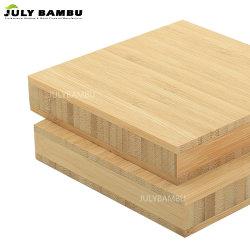 Hoog - dichtheid de Stevige Comités van het Bamboe van 3 Lagen 4X8 19mm Gecarboniseerd Blad van het Triplex van het Bamboe voor Houten Tafelblad