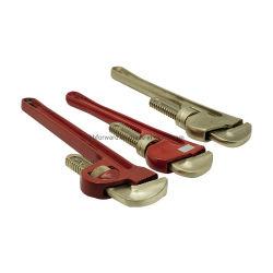 No despierta la llave de tubo ajustable de llave de tubo de aleación de cobre de una llave Stilson