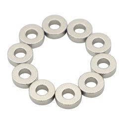 مغناطيس SmCo مخصص سميك مصنوع من مادة الساماريوم Cobalt Ring Sm2co17