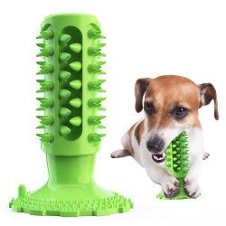 Clignotement durables molaire bille InteractivePet demâcher chien jouet en caoutchouc élastique brillant chien boule à billes