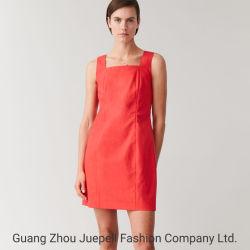 OEMの卸し売り高品質の方法新しいデザイン夏のオフィスの女性小型服の綿の偶然の女性の服