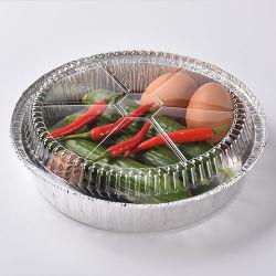 Embalagens descartáveis quente recipientes de alumínio/Pan/bandeja/caixa