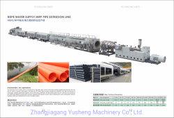 إنتاج طرد الأنابيب PVC الأنابيب/أنابيب PVC المائية ذات القطر الكبير تحت الأرض الخط