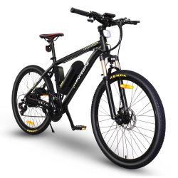 دراجة كهربائية كهربائية جبلية مقاس 26 بوصة ودراجة ترابية مزودة ببطارية ليثيوم