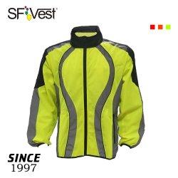Umhüllungen-Breathable Straßen-Gebirgsfahrrad-Sicherheit der reflektierenden windundurchlässigen Männer Sports komprimierende Windschutz
