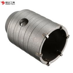 TCT 구멍 톱 커터 카바이드가 콘크리트 드릴 비트를 팁으로 합니다 콘크리트