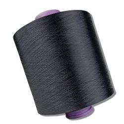 Hilados de filamentos de poliéster DTY teñido de hilados multicolores de espacio y el tejer tejer
