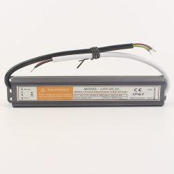 45W Smalll 12V 24V IP 68 à prova de Comutação AC à fonte de alimentação DC