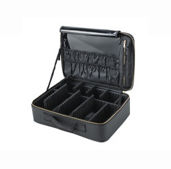 保護ケースのディバイダが付いている専門の堅いエヴァの理髪師の工具箱を運ぶカスタマイズされた防水旅行