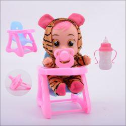 Banheira de 8 polegadas - simulação de boneca de choro de plástico Doll irá pulverizar água vai chorar vai chorar sobre cada brinquedo