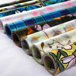 다양한 스타일의 PVC 장식 객실 유리 필름 3D 창문 장식 홈 오피스 PVC 장식 필름