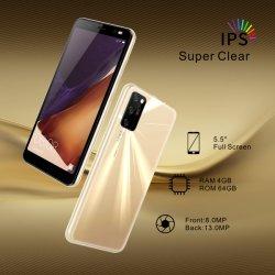遅の工場直接供給二重カメラとの2021低価格の5.5inch人間の特徴をもつスマートな電話3G