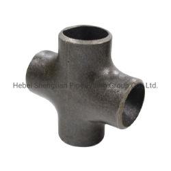 Acessórios para tubos de aço carbono sem costura Bw t Cross