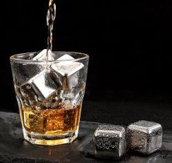 304 Aço Inoxidável cubos de gelo Quick-Frozen Metal Tártaro bloco de gelo