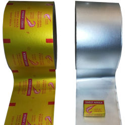L'aluminium déjoué Wrapping Paper pour soupe de fromage de Cube de bouillon de papier d'emballage de l'enrubanneuse