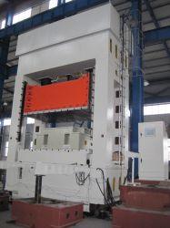 Estampado de lámina metálica tipo pórtico de perforación hidráulico con cojín de prensa