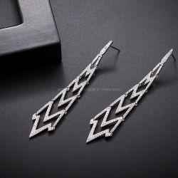 Commerce de gros 2021nouvelles boucles d'oreille clip oreille charmant de style brésilien Stud Earrings Bijoux Set cadeau de mariage Bijoux Fashion Necklace et Earring (32)