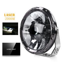 """Новейшие точечная лампа дальнего света 8.5 дюйм Auto Car огни морской круиз на лодке 120W 9"""" 7 дюйм лазерный индикатор дальнего света для погрузчика"""