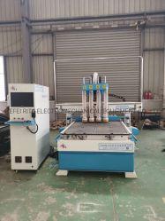Macchinario professionale dell'incisione di taglio di falegnameria di CNC di legno per il portello di legno
