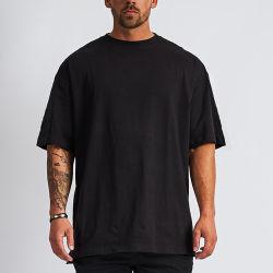 تصميم جديد قمصان فاخرة من القطن فضفاضة فضفاضة فضفاضة قطرة فارغة قميص كبير الحجم
