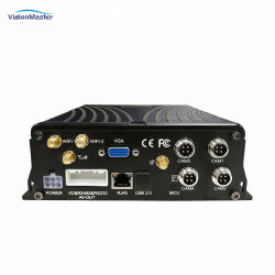 Bus-LKW-Taxi Van 4channels 1080P HDD GPS 4G bewegliches DVR
