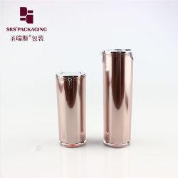Commerce de gros 15ml 30ml 50ml gel acrylique série Flacon à pompe de conteneur de lotion cosmétique