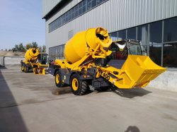 3/4/5m3 Hy200 Mobile Self-Loading hormigonera