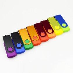 Les lecteurs Flash de gros de la carte sans fil 4 Go de cadeau de mariage Walletstick USB Pen Drive avec logo
