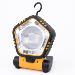 最もよいサービスOEM再充電可能な手持ち型作業ライト、携帯用LED多機能作業ランプ