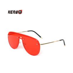 2020 Kenbo высокое качество модные ПК Красная Линза солнцезащитные очки новый цельный большие солнечные очки