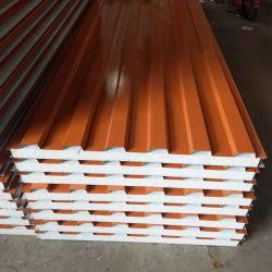 EPS/ ポリスチレンフォーム断熱屋根 / ウォールボードサンドイッチパネルの建築材料