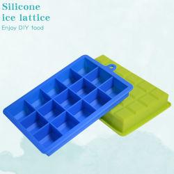 أيس مكعب Mold مع غطاء 24 شبكة جليد سيليكون ملحق GRID طعام الأطفال أدوات المطبخ الثلاجة قابلة للتطبيق