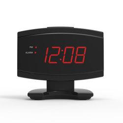 寝室のための小さいLED簡単なデジタルの目覚し時計をセットすること容易な熱い販売の標準的なデザイン